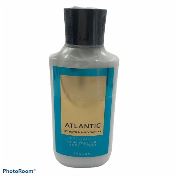 NWT Bath & Body Works Atlantic Lotion Mens New